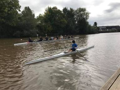 Freshers on the water